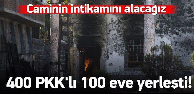 Cinayetten önce 100 eve yığınak!