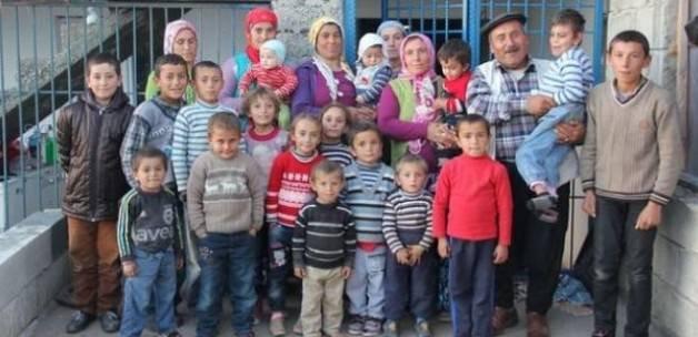 Çocuk sayısına nüfus müdürlüğü bile inanamadı