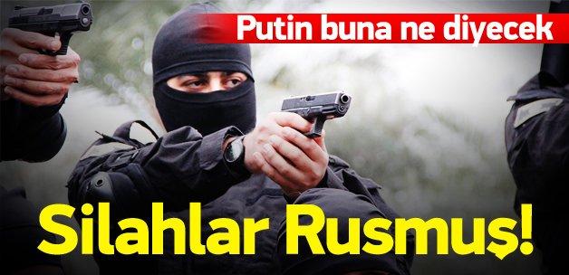 DAEŞ'in silahı da Moskova'dan