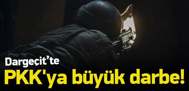 Dargeçit'te PKK'ya büyük darbe!