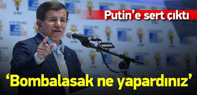 Davutoğlu: Biz Ukrayna'ya girseydi ne yapardınız?