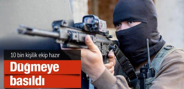Dev PKK operasyonu 10 bin kişilik ekip işte ayrıntılar