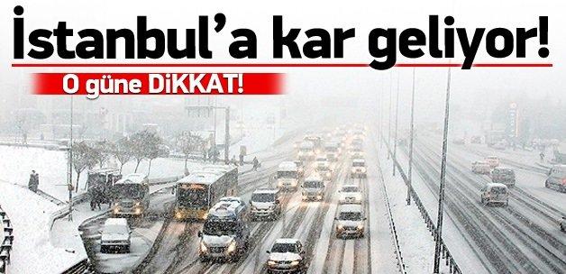Dikkat! Cuma günü kar geliyor
