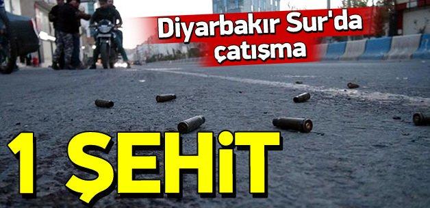 Diyarbakır'da çatışma: 1 asker şehit oldu