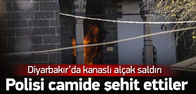 Diyarbakır Sur'da 1 polis şehit