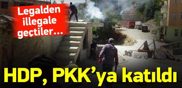 DTK'da atılan imza PKK'ya katılımdır