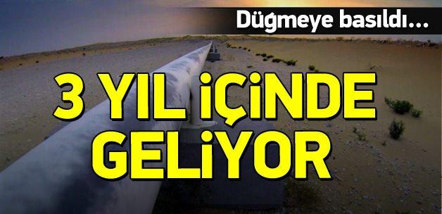 Düğmeye basıldı! 3 yıl içinde Türkiye'ye geliyor