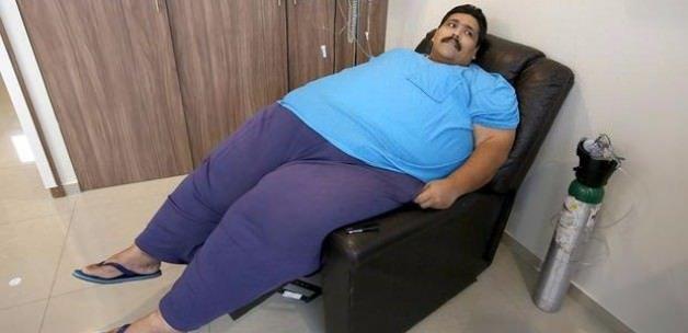 Dünyanın en kilolu adamı hayatını kaybetti