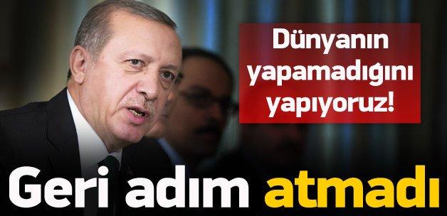 Dünyanın yapamadığını Türkiye yapıyor
