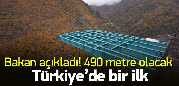 En yüksek cam seyir terası 2016'da açılacak
