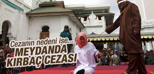 Endonezya'da ürküten kırbaç cezası!