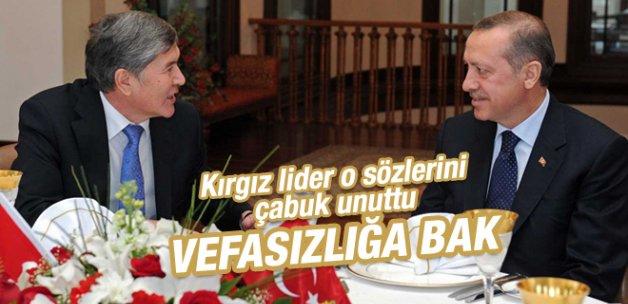 Erdoğan'a yaptığı vefasızlığa bak!