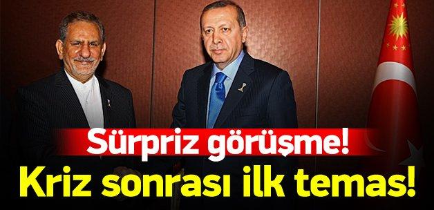 Erdoğan'dan kriz sonrası ilk temas!
