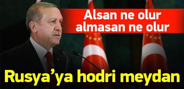 Erdoğan'dan yeni Rusya açıklaması