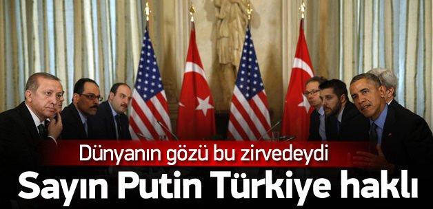 Erdoğan - Obama görüşmesi sona erdi