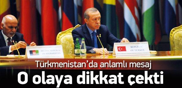 Erdoğan, Tarafsızlık Konferansı'na katıldı