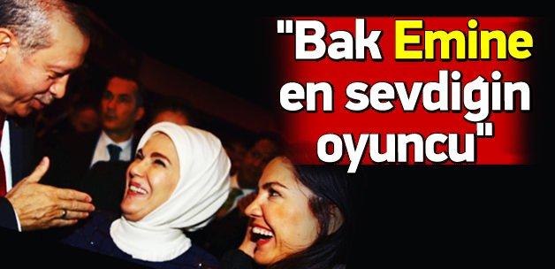 Erdoğan ve eşinden 80ler dizisi oyuncusuna övgü