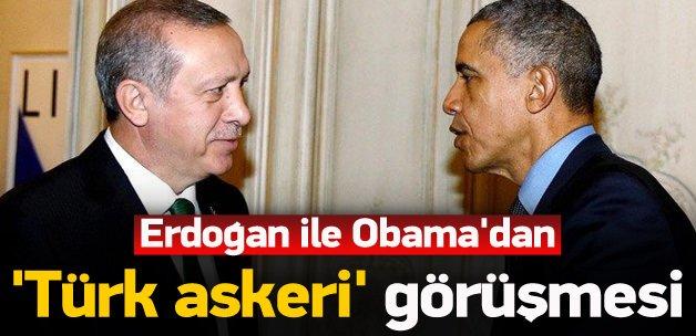 Erdoğan ve Obama arasındaki kritik görüşme