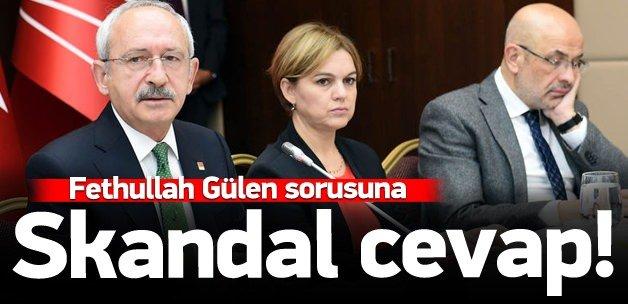 Fethullah Gülen sorusuna skandal cevap!