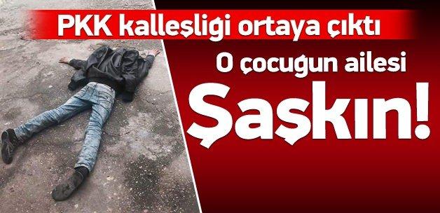 Fotoğraf PKK'nın kurgusu çıktı!