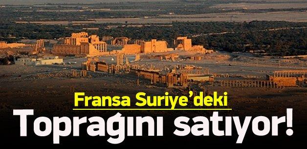 Fransa, Suriye'deki toprağını satışa çıkardı