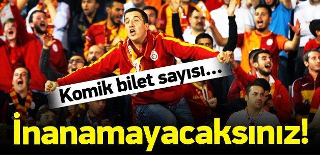 Galatasaray'a taraftar şoku! Komik rakam...