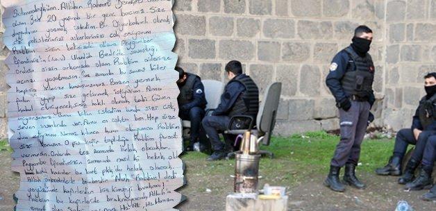 Genç kızdan polise duygulandıran mektup