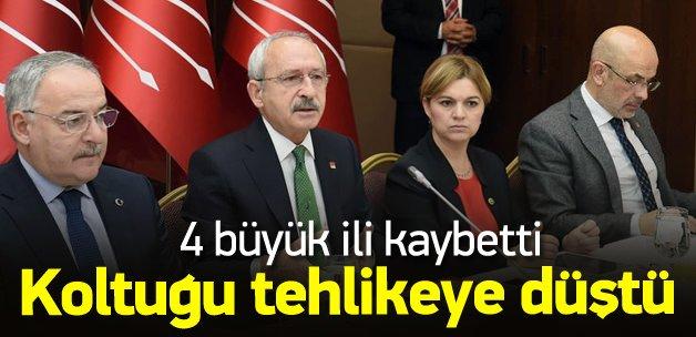 Genel merkezin adayları kaybetti