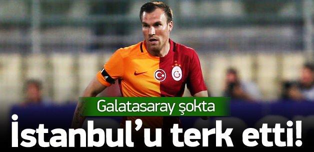 Grosskreutz İstanbul'u terk etti!