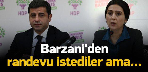 HDP Barzani'den randevu istedi