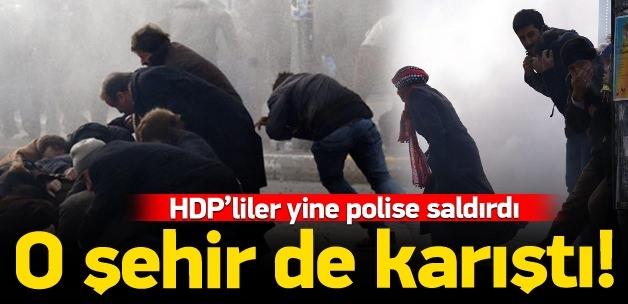 HDP'li gurup Van'ı bir birine kattı!