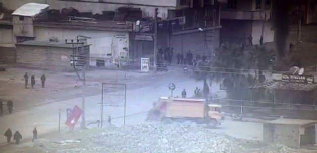 HDP'nin çöp kamyonu PKK'lıların hizmetinde