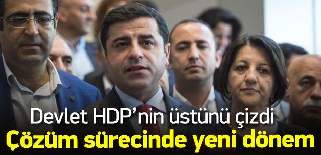 HDP'siz çözüm dönemi başlıyor