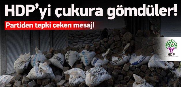 Hendekçi HDP'den tepki çeken tweet