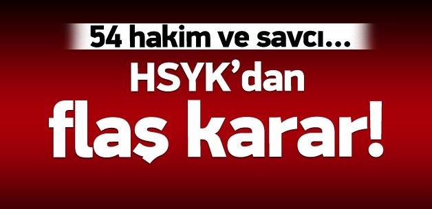 HSYK'dan 54 hakim ve savcıya yargılama!