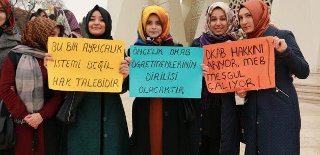 İDKAB öğrencilerinden 'öncelik' talebi