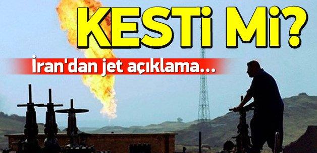 İran: Gaz akışında herhangi bir sorun yok
