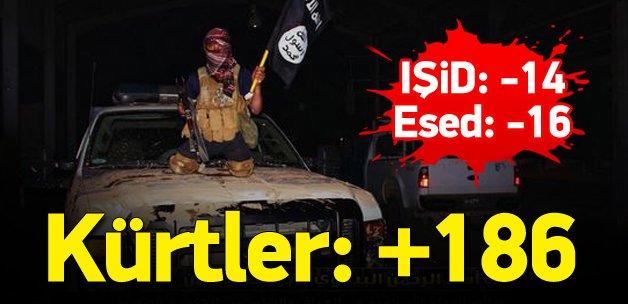 IŞİD 2015'te topraklarının yüzde 14'ünü kaybetti