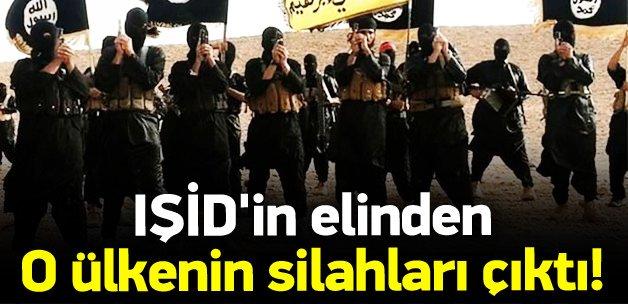 IŞİD'in elinden o ülkenin silahları çıktı!