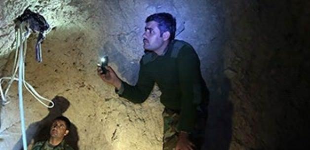 IŞİD'in kazdığı tüneller ortaya çıktı