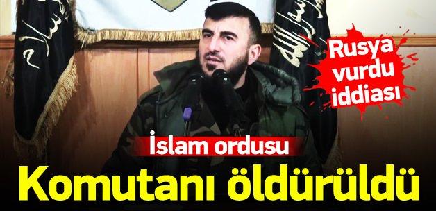 İslam Ordusu komutanı Zehran Alluş öldürüldü