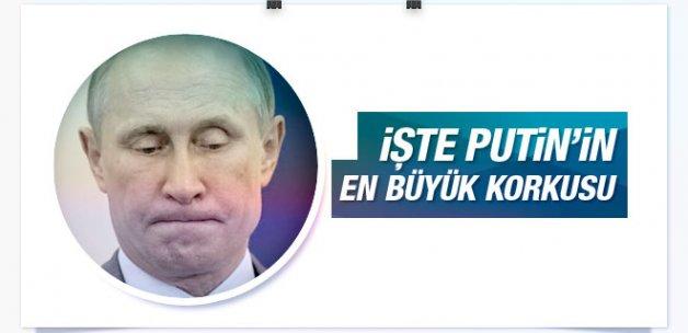 İşte Vladimir Putin'in en büyük korkusu