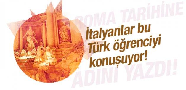 İtalya'da bir Türk tarihe adını yazdı!