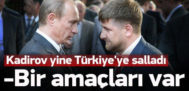 Kadirov: Türklerin bir amacı var