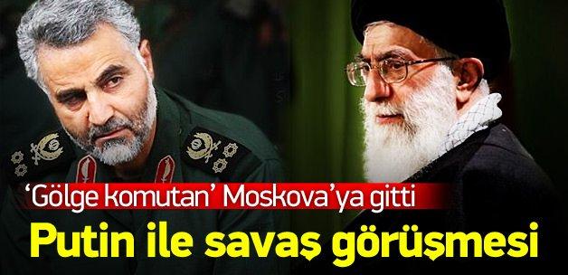 Kasım Süleymani Putin'le görüştü