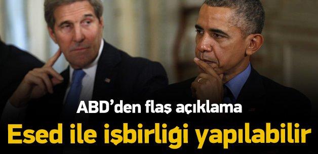 Kerry: 'Esed ile işbirliği yapılabilir'