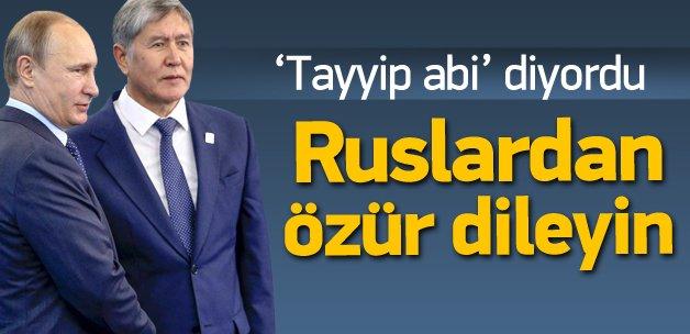 Kırgızistan'dan şok Türkiye çıkışı