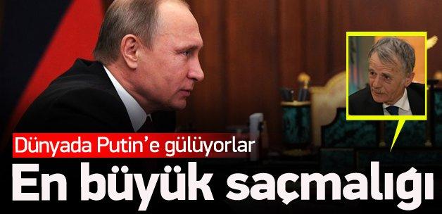 Kırımoğlu: Putin'in en büyük saçmalığı