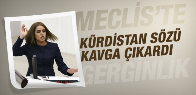 Kürdistan çıkışı Meclis'te tansiyonu yükseltti