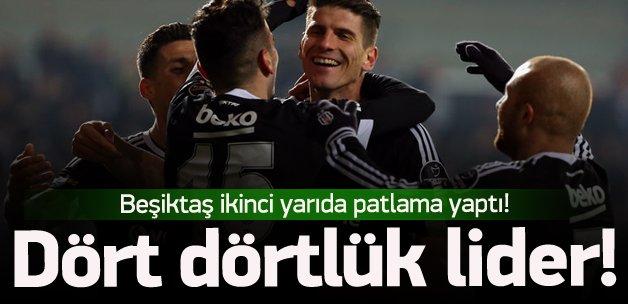 Lider Beşiktaş'tan gol şov!